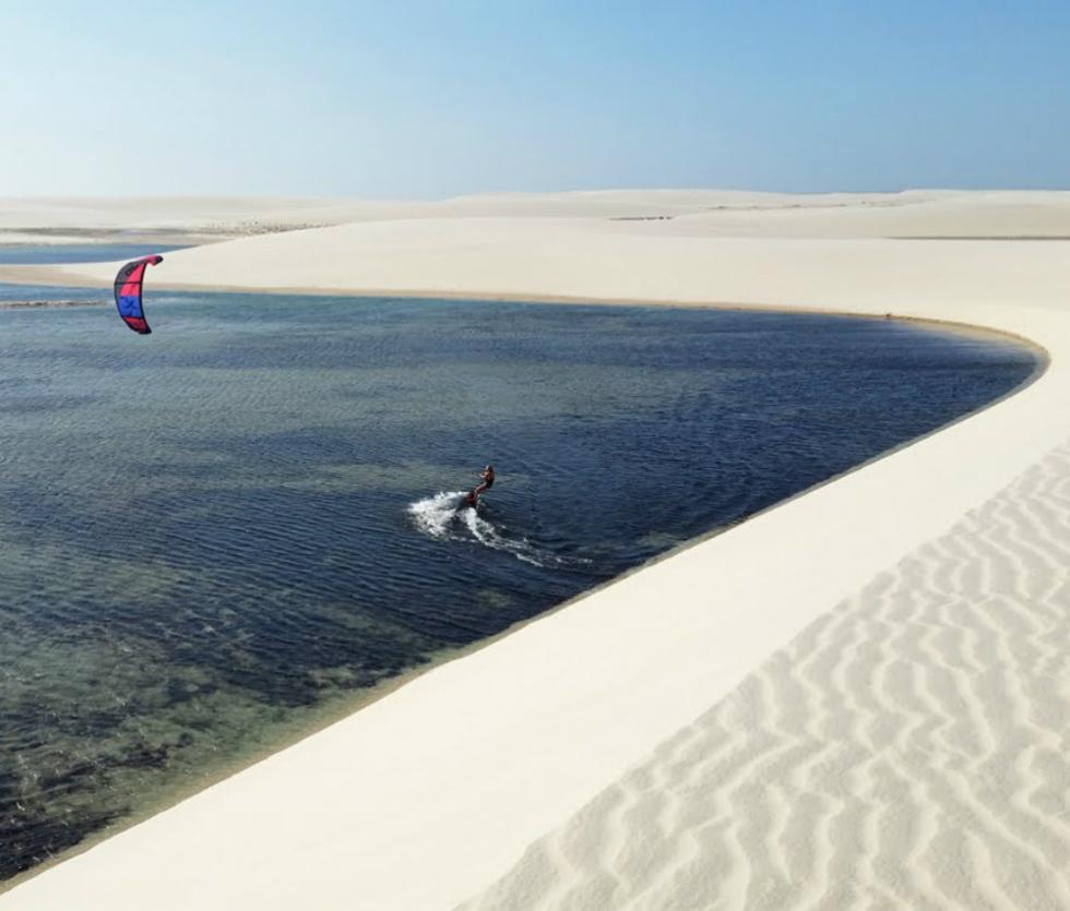 Oferta viaje kitesurf Brasil