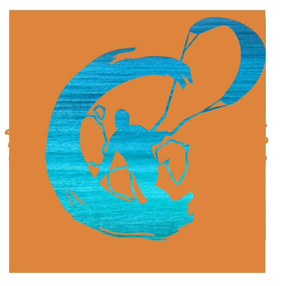 Presente experiência de kitesurf