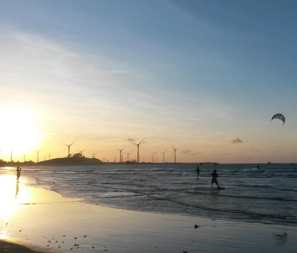 kite em Galinhos