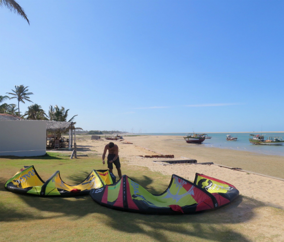 Kitesurfing Ilha do Guajiru