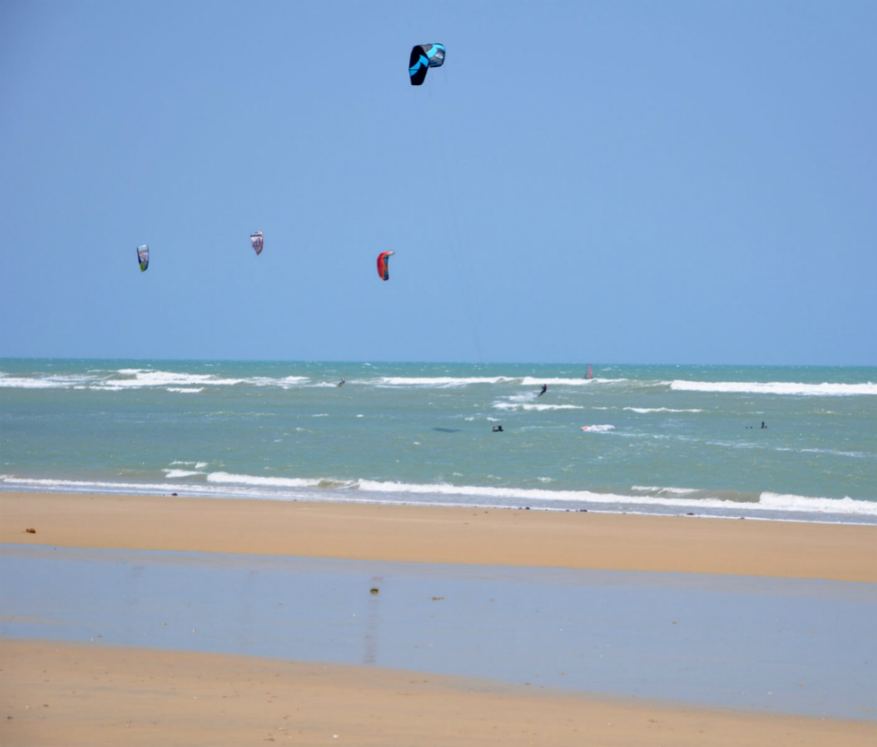 Kitesurfing Paracuru