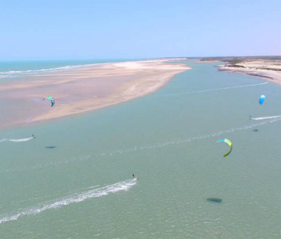 Kitesufing Parajuru