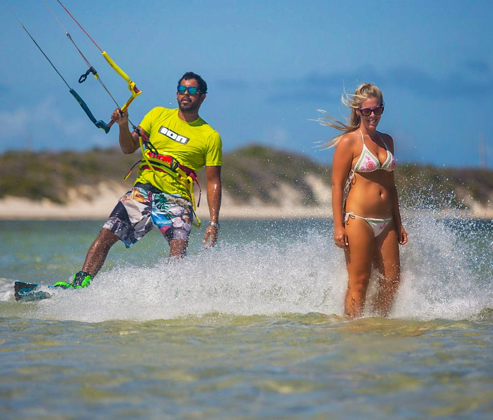 Kitesurfing São Miguel do Gostoso