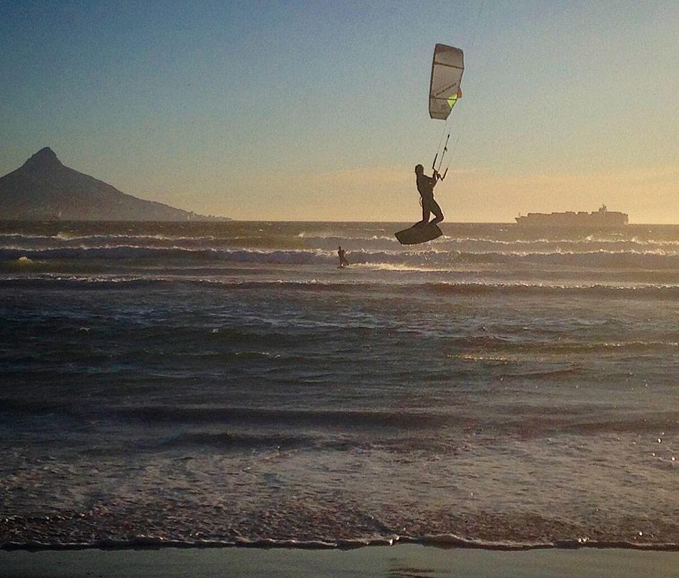 Kitesurf en Brasil