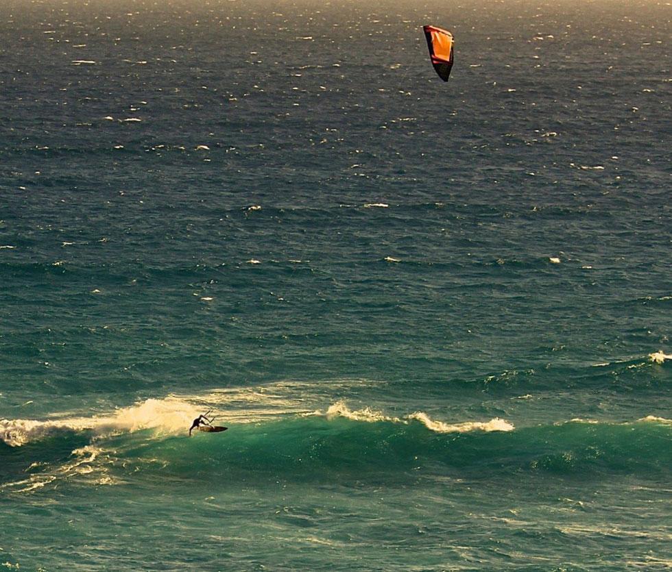 kitesurfing Scarborough