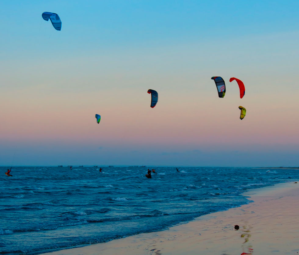 kitesurf tremembé