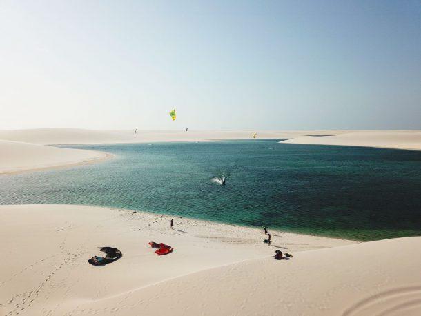 Kitesurfing Atins
